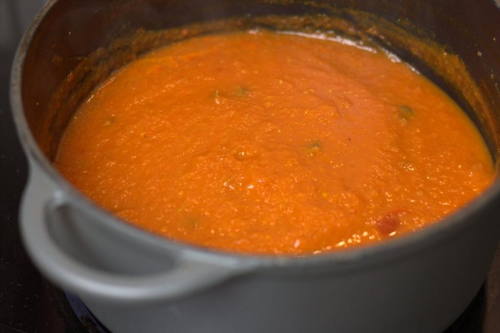 Italiaanse basis tomatensaus