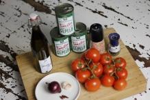 Ingrediënten Italiaanse basis tomatensaus