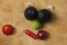 Ingrediënten voor guacamole