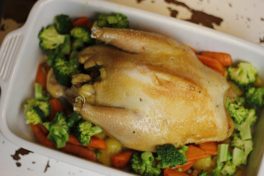 Perfecte kip uit de oven