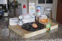 Ingrediënten voor poffertjes