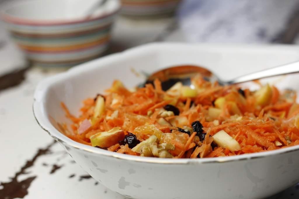 Frisse wortelsalade