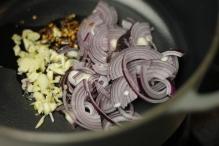 Fruit de ui, knoflook en pepertjes