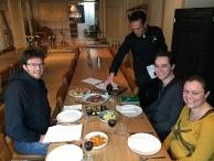 We vragen feedback op ons menu van Chef Yuri & Chef Martijn