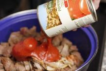 Voeg tomaten toe