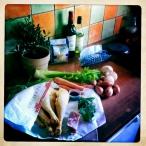 Voorbereidingen voor de Coq au vin