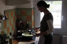Bereid ondertussen rijst en groenten