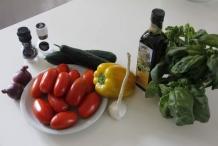 Gazpacho ingrediënten