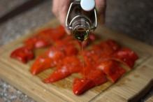 Besprenkel ze met je lekkerste olijfolie