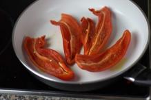 Bak de paprika's