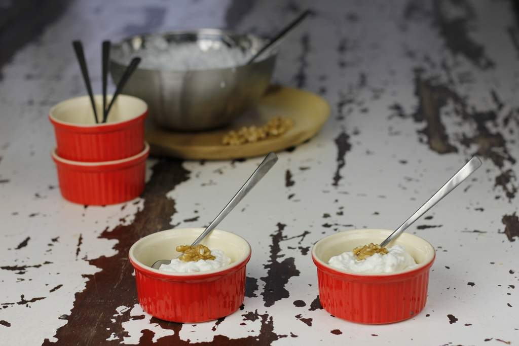 Griekse yoghurt toetje