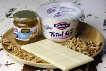 Ingrediënten Griekse yoghurt toetje