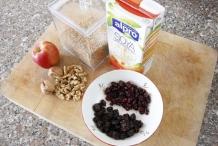 Ingrediënten voor het haver-ontbijt