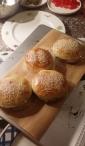 Zelfgemaakte broodjes