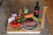 Ingrediënten Italiaanse runderrollade