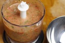 Blend tot een mooie salsa