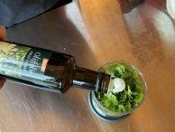 Beetje olijfolie erbij