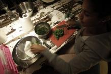 Anna maakt de Raita