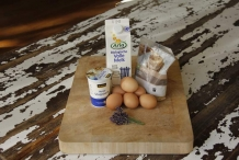 Ingrediënten lavendelijs