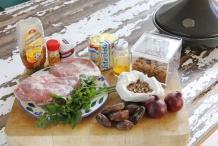 Marokkaanse lamstaijne ingrediënten