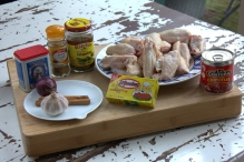 Ingredienten Mexicaanse kippenbouillon