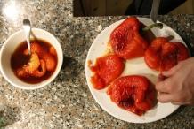 Pel de paprika's