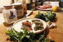 De ingrediënten van de Salsa Verde