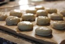 De scones zijn klaar voor de oven