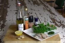 Ingrediënten Sprot al Horno
