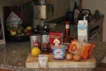 De ingrediënten van tiramisu