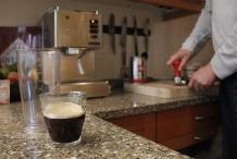 Zet sterke koffie