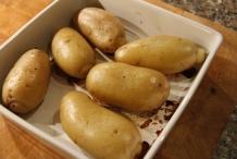 De aardappels zijn klaar