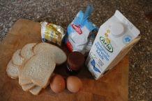 Ingrediënten voor wentelteefjes