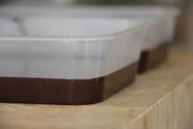 Een mooie dikke plak chocolade