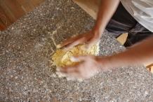 Gluten zorgen voor soepel deeg