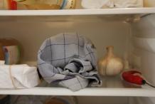 Leg de deegbal in de koelkast als het warm is