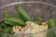 Voeg een scheutje olijfolie toe